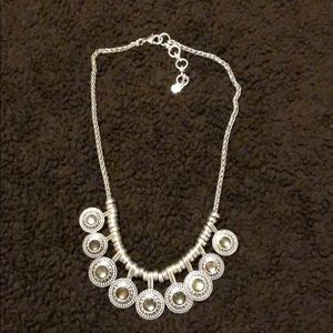 Lucky Brand Statement Silver Necklace